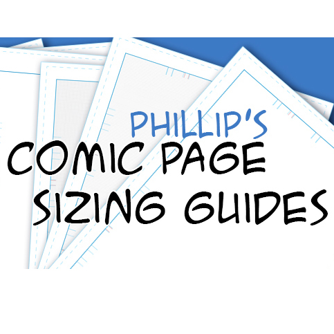 Comic Page Sizing Guide Templates \u2013 Phillip Ginn