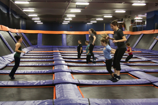 I Tried It Trampoline Fitness at Sky Zone Indoor Trampoline Park