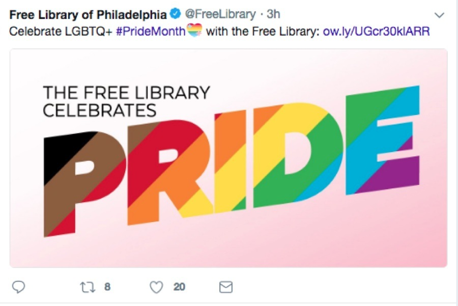 Here\u0027s How the Free Library Is Celebrating Pride Month In A Big Way
