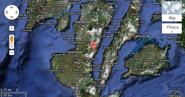 Negros Cebu Earthquake