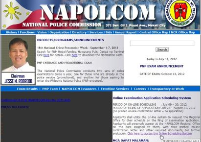 NAPOLCOM Official Website