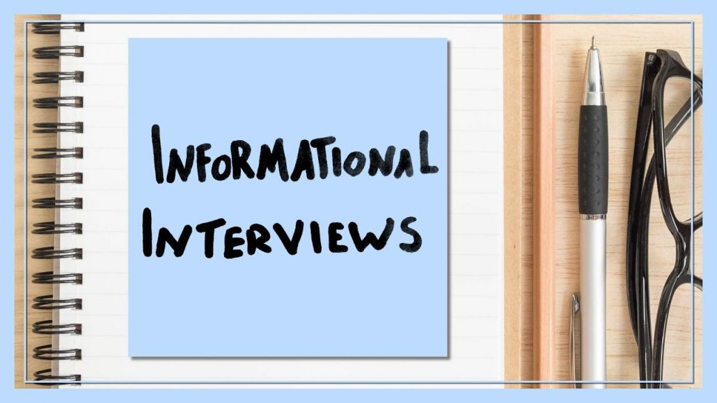 The power of informational interviews, and 30 simple but brilliant