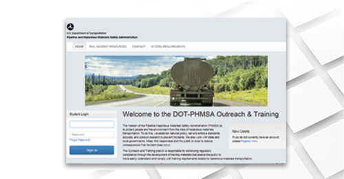 Training Modules PHMSA