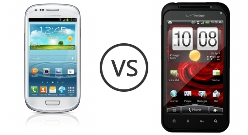 Gambar Hp Siii Mini 14 Samsung I8190 Galaxy S III mini vs HTC Droid Incredible Phone x