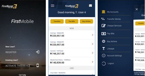 Download First Bank Mobile App For Android, iOS Internet Banking app