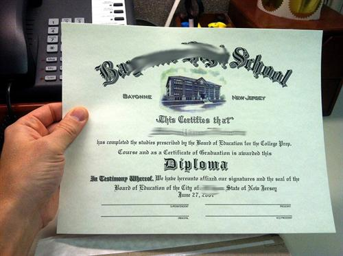 Fake Diploma from your Scan - PhonyDiploma