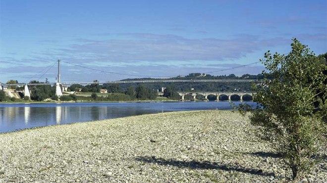 La Garonne en été  ©photo Patrick Clermont