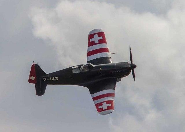 Morane-Saulnier M.S.406 Swiss air force©photo Patrick Clermont