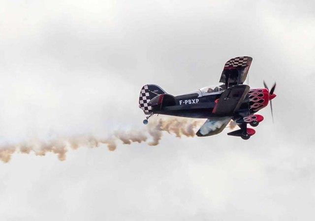 Le Pitts spécial est un avion biplan de voltige conçu par Pitts Curtis©photo Patrick Clermont