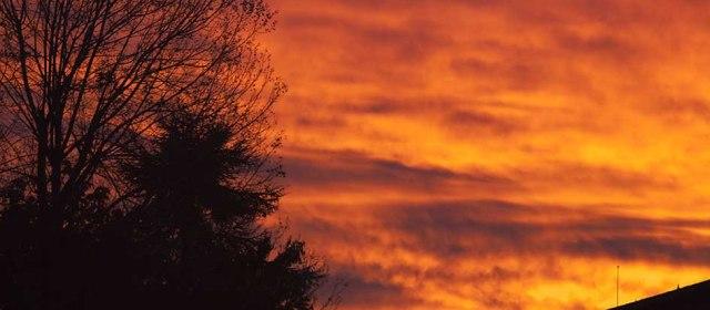 Photo semaine 43 : Lever du soleil à Agen