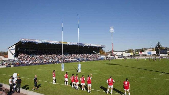 Agen- Stade Français©photo Patrick Clermont