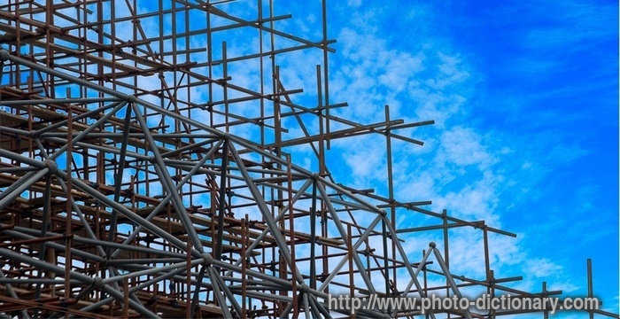 Shutterstock Wallpaper 3d Scaffold Photo Picture Definition At Photo Dictionary