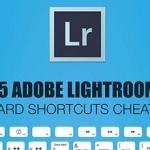 Ligtroom keyboard shortcuts cheat sheet
