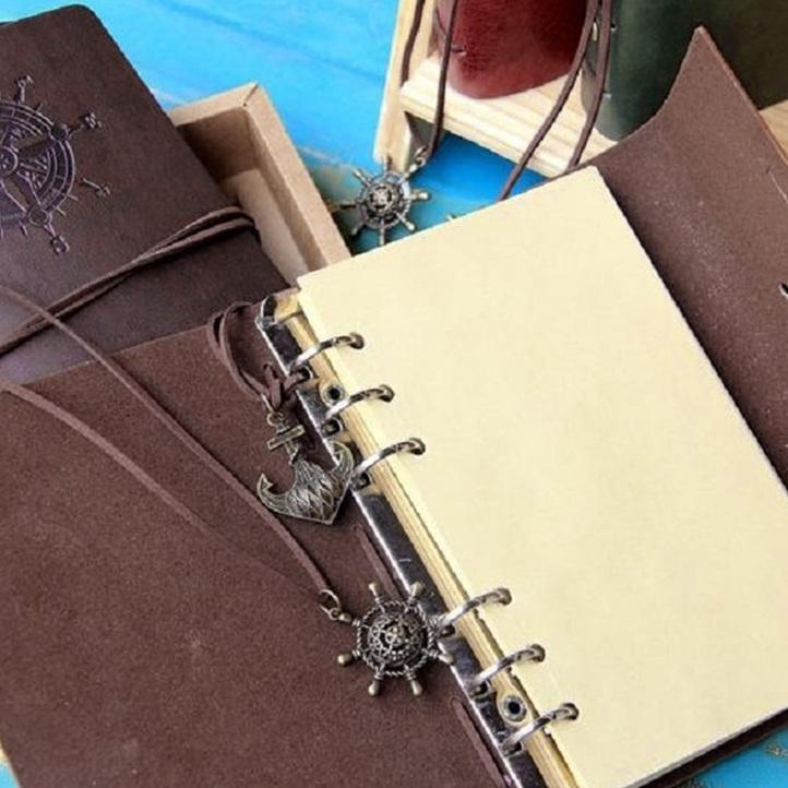Retro Personality Notebooks Journal Notepads Ring Binder Diary - notebook binder