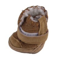 Lovely Winter Warm Pet Dog Shoes Anti Slip Snow Boots For ...