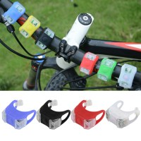 OH 2Pcs Bike Bicycle MTB LED Frog Head Front Lamp Warning ...