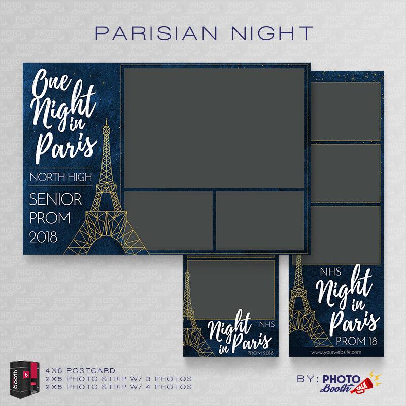 Parisian Night \u2013 For Darkroom Booth Photo Booth Talk