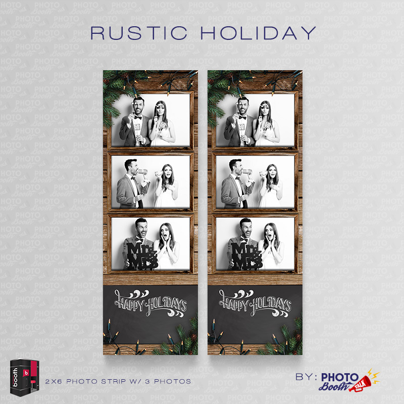Rustic Holiday \u2013 for Darkroom Booth Photo Booth Talk - po booth template