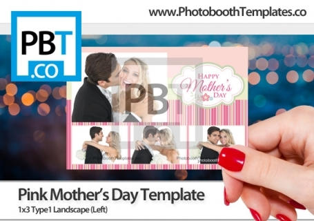 Mothers Day - Premium Designer Photo Booth Templates for Breeze - po booth template