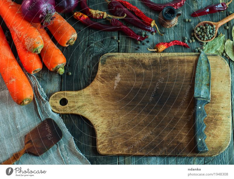 Cutting Board And Bunch With Green Sorrel A Royalty Free