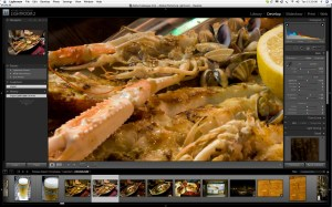 OK, we ate the subject. Lightroom has an equal appetite for raw images!