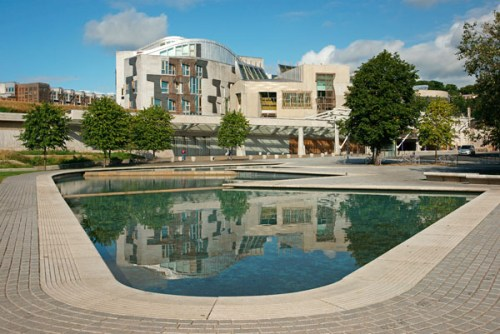 Scottish Parliament Reflections