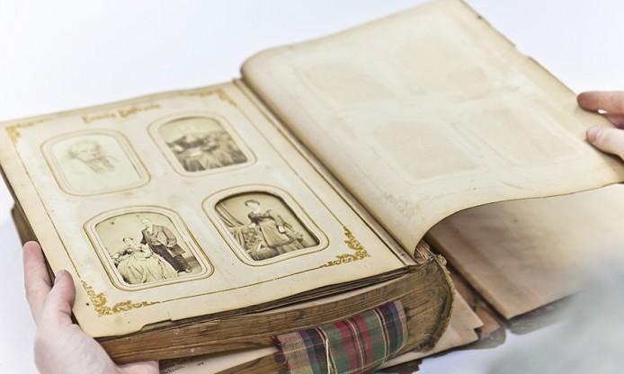 Scrapbooking\u0027s history how people have kept personal diaries or