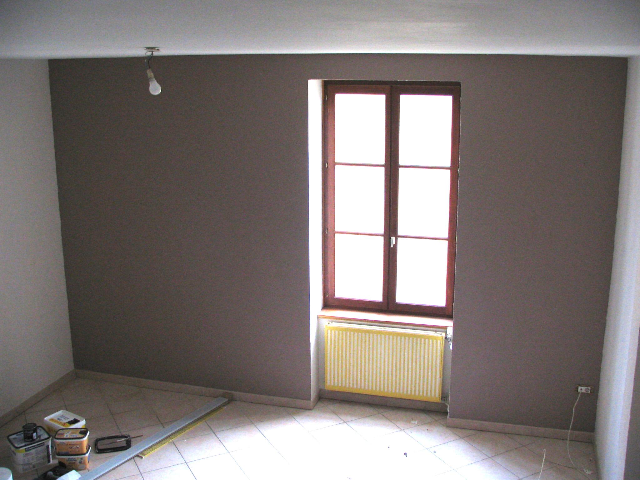 Peinture Salon Beige Et Taupe Peinture Couleur Lin Pour La Deco Zen