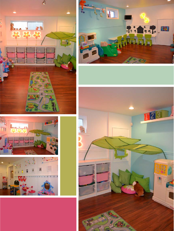 A Calming Space for my Little Sprouts Daycare spaces, Girly and