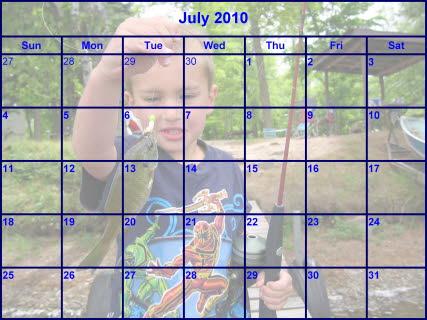 Make a Photo Calendar - create a picture calender