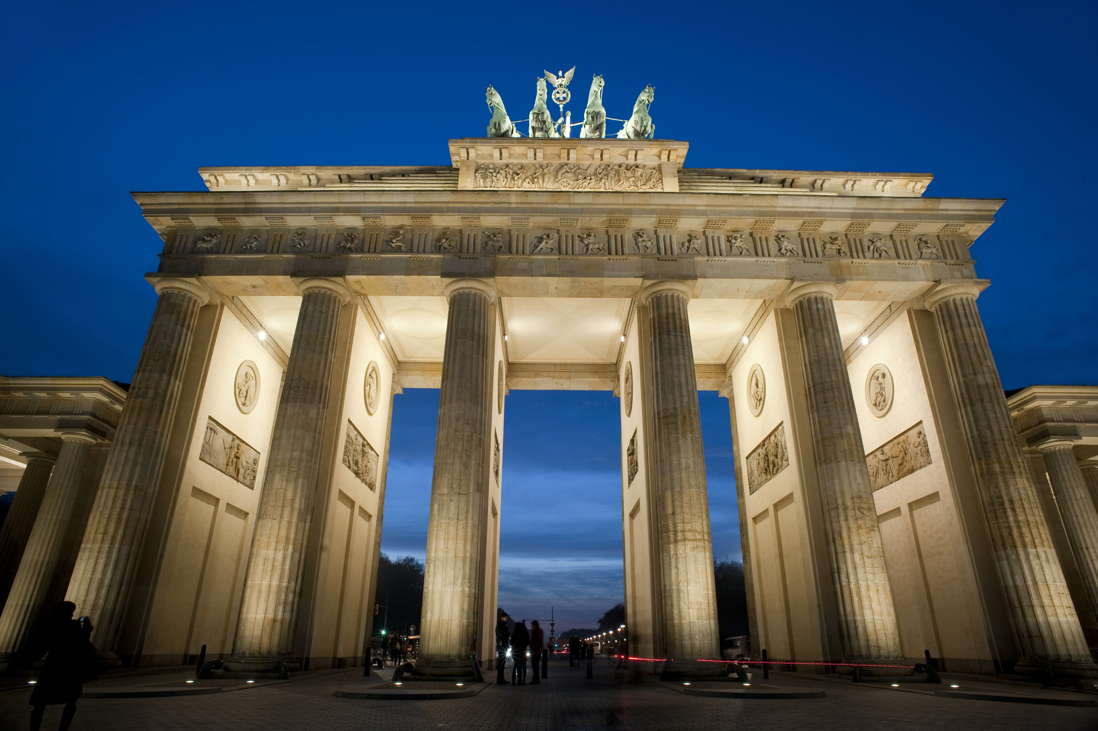 Beautiful Winter Wallpapers Hd Free Stock Photo Of Brandenburg Gate Floodlight