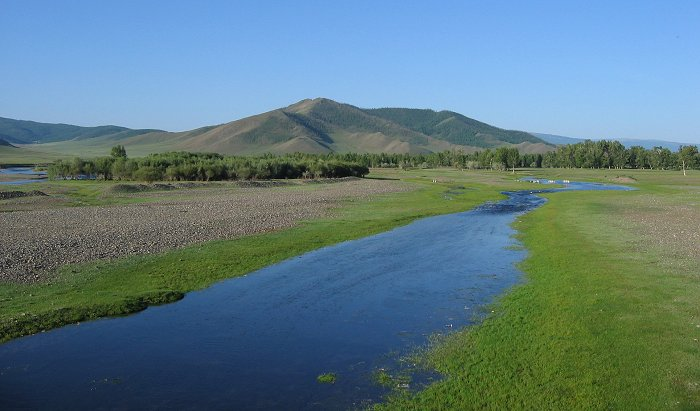 The Hoyd Ramir river in Mongolia East Asia Pinterest - land form