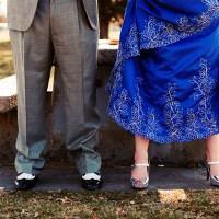 Scott & Lofn's Albuquerque Pagan Wedding Handfasting