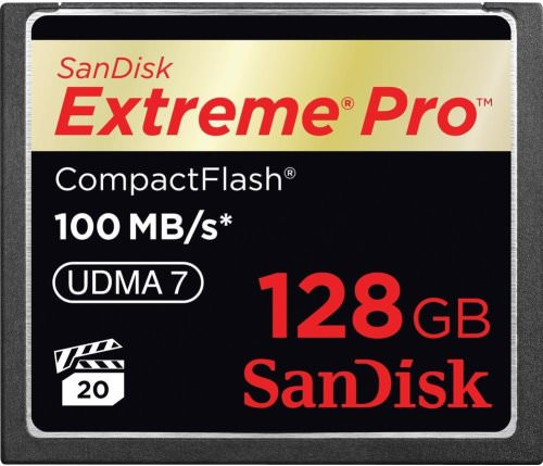 SanDisk 128GB Extreme Pro CF 100MB/s 667x