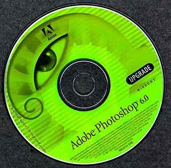 Adobe Photoshop CS 6 upgrade disc