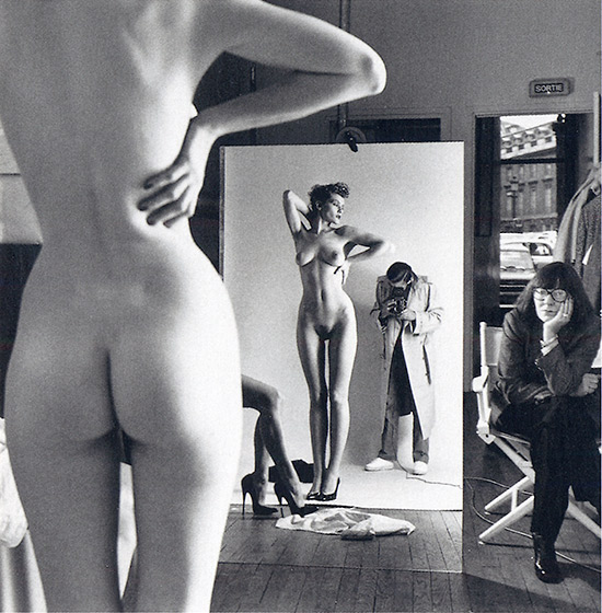 Self Portrait with Wife June and Models 1981