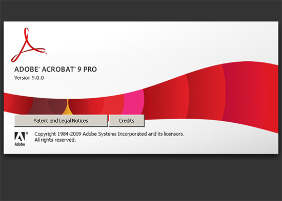 Adobe Acrobat 9 Pro before installing the Critical Security Update