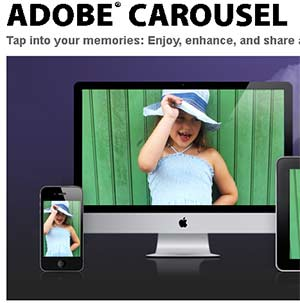 Adobe Carousel for Mobile Devices