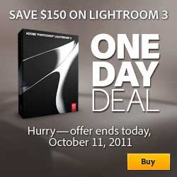 Adobe SALE - 50% OFF Photoshop Lightroom 3 - Today ONLY - One day Sale