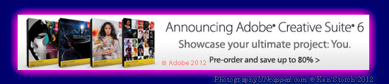 Pre-order Adobe Photoshop CS6 Master Collection