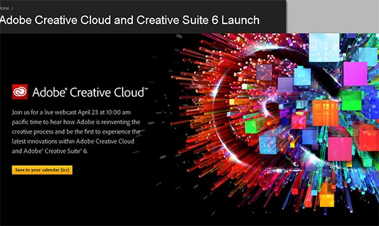 Adobe Photoshop CS6 Creative Suite 6 Official Date Announcement