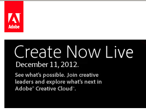 Create Now Live Event - Photoshop New Features