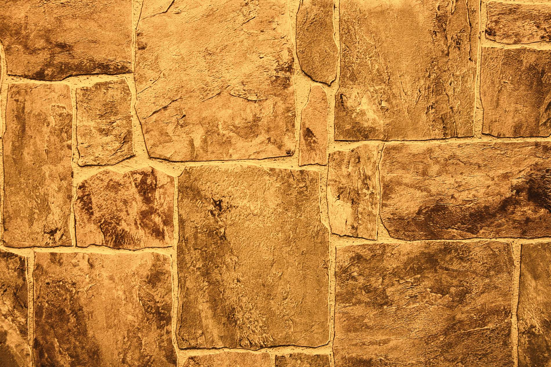 Brown Yellow Stone Wall Texture Carpet - PhotoHDX