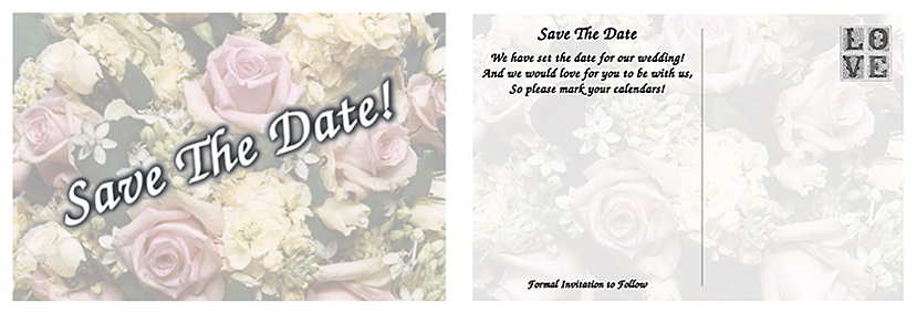 Wedding Magnets and Save The Date Cards Price list