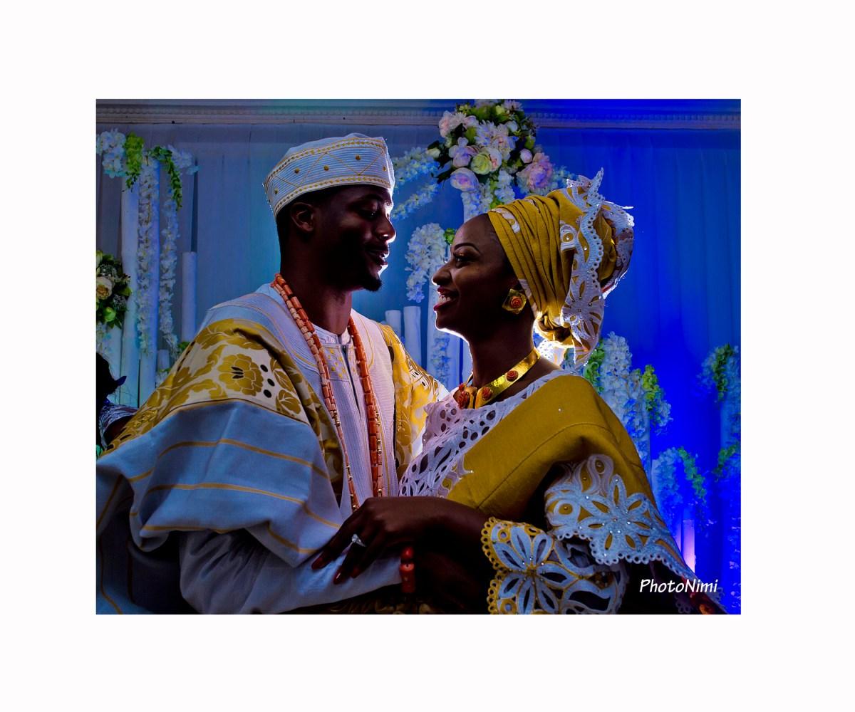 Toyin & Ayo... Traditional & Church Wedding