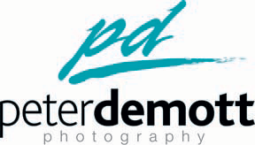 DeMottLogo New Logo for Peter DeMott Photography