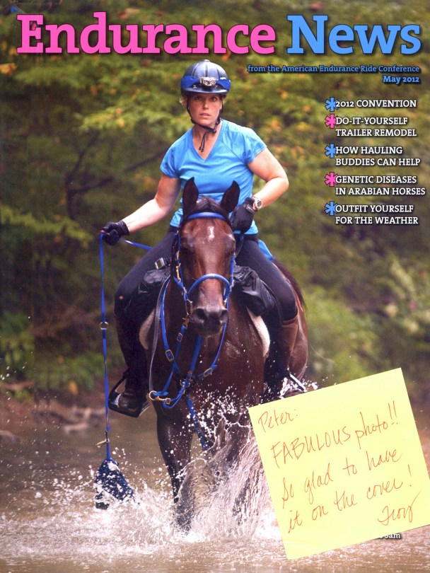 Endurance News Cover May 2012 676x900 Equine action photography at Endurance rides with AERC