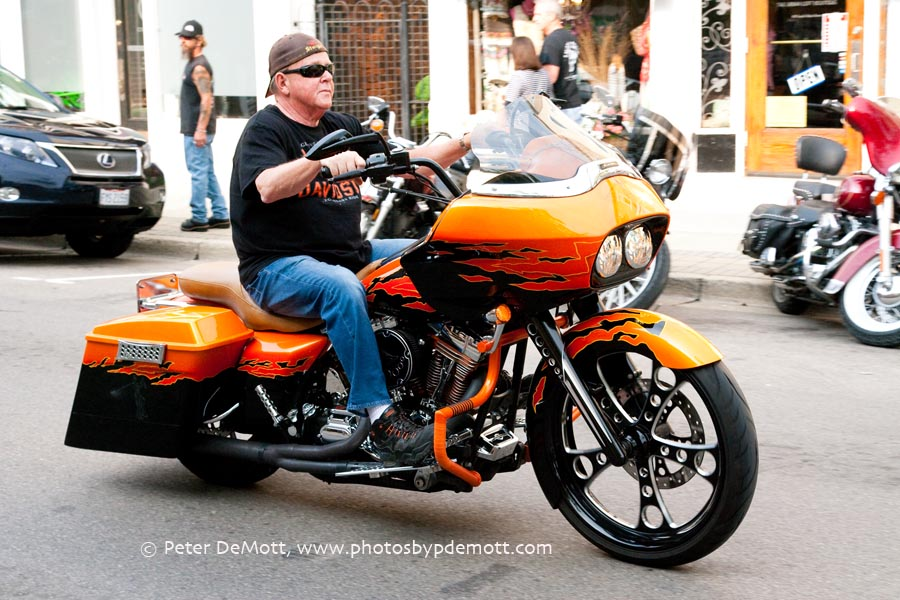 ThunderBURG Motorcycle Cruise-in in Miamisburg Ohio on July 19th 2014