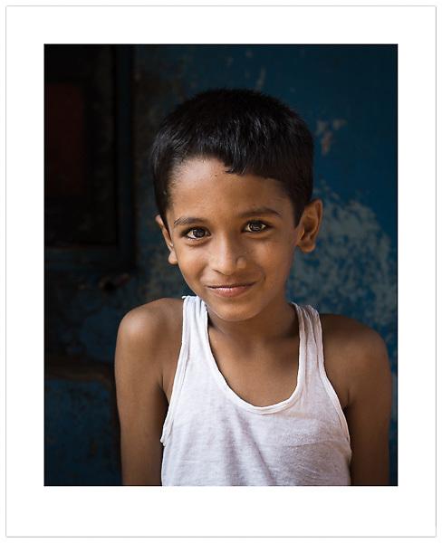Street portrait, Mumbai, India, 2013 (© Ian Mylam)