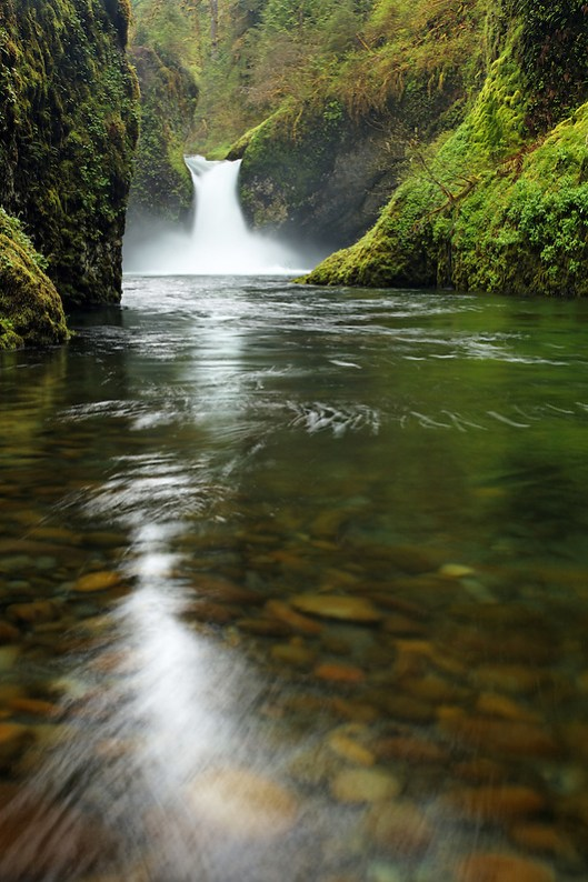 Punchbowl Falls, Eagle Creek Recreation Area, Columbia River Gorge National Scenic Area, Oregon, USA (Brad Mitchell)